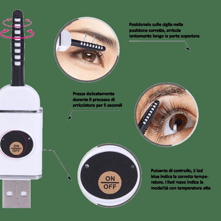 Eyelashes, il rivoluzionario piega-ciglia a caldo: funziona? Dove acquistarlo, prezzo, opinioni e recensioni